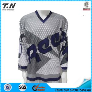 Healong Professional Dye Sublimated Custom Ice Hockey Jersey pictures & photos