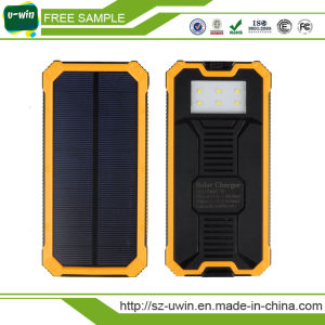 Silicone Solar Charger Travel Mobile Phone Charger OEM Solar Power Bank pictures & photos