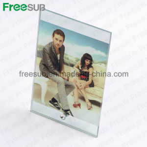Freesub Sublimation Glass Picture Frame for Heat Press Transfer (BL-03) pictures & photos