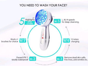 Anti Aging Facial Massager Skin Rejuvenation Beauty Equipment pictures & photos