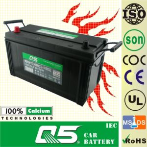 JIS-105E41 12V105AH Maintenance Free for Car Battery pictures & photos