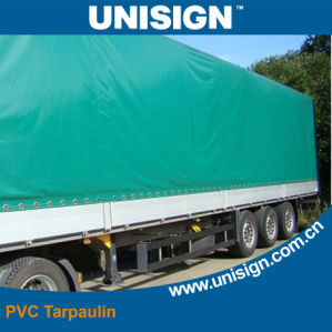 Waterproof and Durable PVC Coated Tarpaulin for Truck Side Curtain pictures & photos