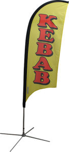 Outdoor Feather Flag Flying Flag for Advertising pictures & photos
