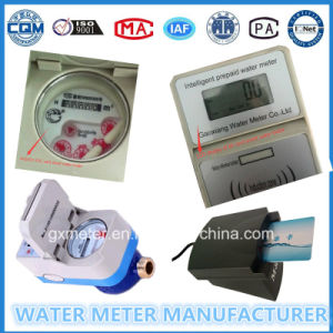 Intelligent Pre-Paid Type Water Meter with IC/RF Card pictures & photos