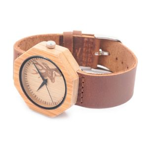 New Environmental Protection Japan Movement Wooden Fashion Watch Bg451 pictures & photos