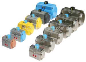 at Series Rack&Pinion at 083 Pneumatic Actuator pictures & photos