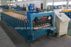 Corrugated Wall Roof Steel Structure Roll Forming Machine pictures & photos