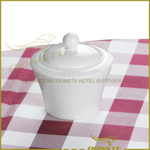 15 PCS White Porcelain Tableware Set Embossed Pearl Series pictures & photos