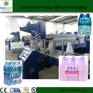 PE Film Shrink Wrapping Machine for Beverage Filling Production Line pictures & photos