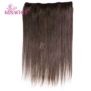 Wholesale Price 100% Brazilian Human Remy Halo Hair Extension pictures & photos