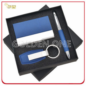Promotional Metal Key Chain and Card Holder Gift Set pictures & photos
