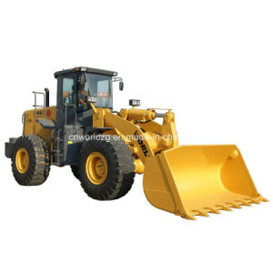 Wheel Loader with 3 Cbm Bucket Construction Machinery pictures & photos