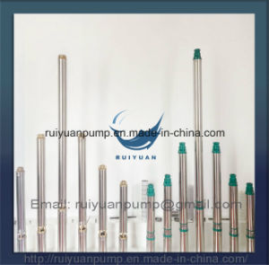 High Quality 4 Inches 75kw 1HP Deep Well Pump Submersible Pump (4SD3-11/750W) pictures & photos