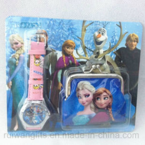 Children Watch and Coin Purse Gift Set for Promotional pictures & photos