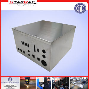 Sheet Metal Fabrication TV Advertising Enclosure for Electrical Power Boxes pictures & photos