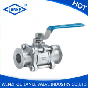 1000wog Three Piece Ready Packaged Stainless Steel Ball Valve