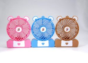 Unitedstar New 4′′electric USB& Battery Mini Fan (USMN-DC02) with CE, RoHS pictures & photos