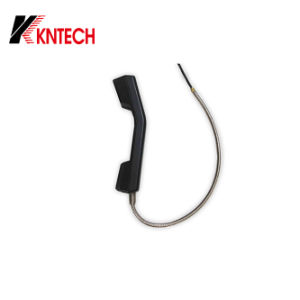 Rugged Outdoor Public Telephone Handset with Armoured Cord Phone Line pictures & photos