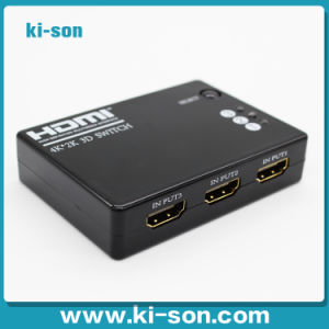 3 to 1 Mini HDMI Switch with Remote Control 3D Support 1080P