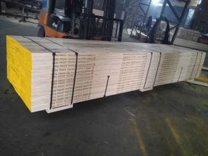 Construction Usage LVL Scaffold Board with Pine pictures & photos