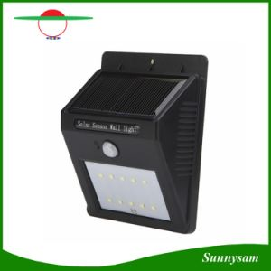 10 LED Wireless Outdoor Wall Mounted Solar Light with Motion Sensor Light pictures & photos