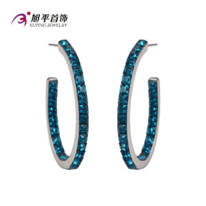 Xuping Fashion Luxury Cystals From Swarovski Elegant Jewelry Earring Hoop -E-117 pictures & photos