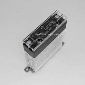 25A DIN Rail Mounted Slim Solid State Relay SSR with Heatsink, Ce, RoHS pictures & photos