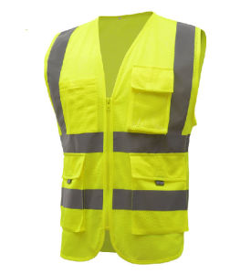 High Visibility Safety Vest with ANSI07 (C2515) pictures & photos