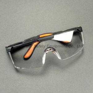 Transparent Lens Black Frame Safety Glasses (SG110) pictures & photos