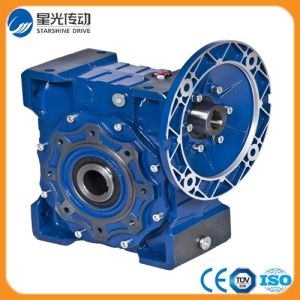 Nmrv Double Worm Gear Box with 1.5kw Motor pictures & photos