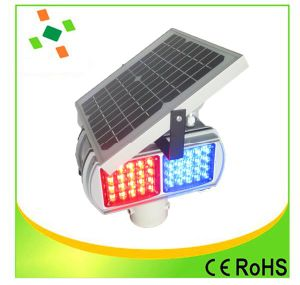 LED Flashing Solar Traffic Warning Light pictures & photos