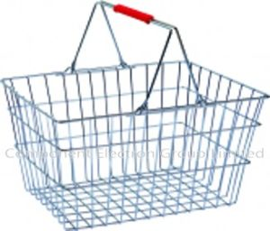 Shopping Trolley Basket, Supermarket Basket, Metal Wire Basket Barrow pictures & photos
