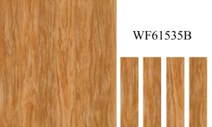 High Quality Inkject Wooden Grain Floor Tile for Home Decoration (150*600mm) pictures & photos
