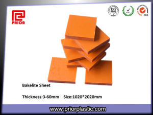 Hot Pertinax Phenolic Paper Resin Laminated Bakelite Sheets pictures & photos