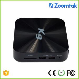 Zoomtak Cheapest Plastic Housing S905 Quad Core Smart TV Box K9 pictures & photos