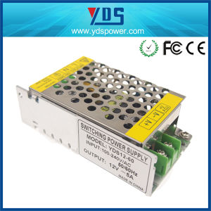 12V 5A 60W Switching Power Supply for LED, CCTV Camera pictures & photos