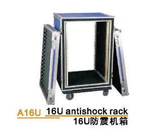 Aluminium Flight Case 16u Antishock Rack pictures & photos