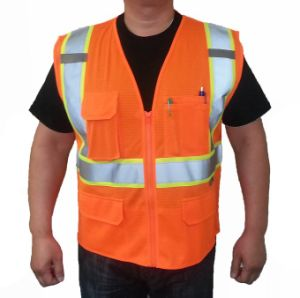 Class 2 Reflective Safety Vest pictures & photos