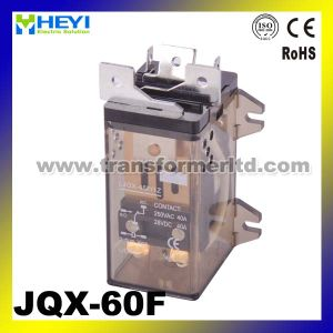 Relay 60A Relay High Power Relay Jqx-60f Mounting Relay pictures & photos