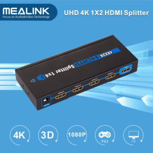 New! HDMI Splitter, 1.4V 1*4 HDMI Splitter 3D, 4kx2k pictures & photos