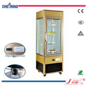 Fan Cooling Upright Rotating Layer Cake Showcase pictures & photos
