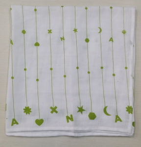 100% Cotton Printed Muslin Cloth Baby Muslin Diaper pictures & photos