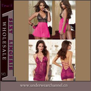 Homewear Ladies Sexy Underwear Night Wear Sleepwear Nightgown Pajamas (2014) pictures & photos