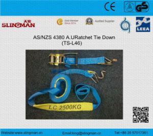 High Quality Polyester Ratchet Lashing Strap pictures & photos