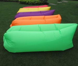 New 2nd Generation Inflatable Air Sleeping Beach Couch (L09) pictures & photos