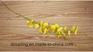 Dancing Orchid Stem Artificial Flower (SW06731) pictures & photos