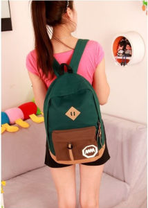 2017 Women Backpack Casual Travel Bag Fashion School Bag Multi-Colors Canvas Shoulder Bags Cheap Price (Ld342) pictures & photos