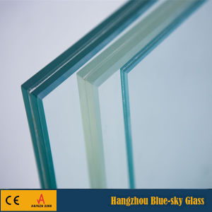 5+5 Laminated Glass Deck Railing