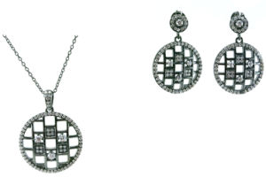 Fashion Jewelry CZ Stone 925 Silver Jewelry Sets Wholesale S3201 pictures & photos