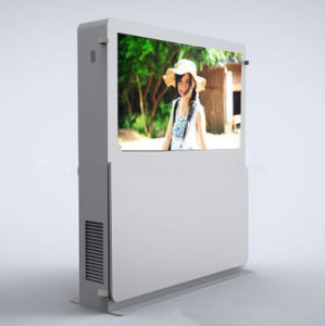55inch IP65 Floor Standing Sunscreen LCD Display pictures & photos